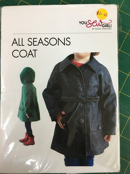 All Seasons Coat You Sew Girl