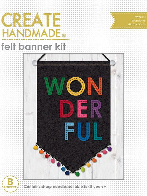 Childrens Sewing Kit - Wonderful Banner