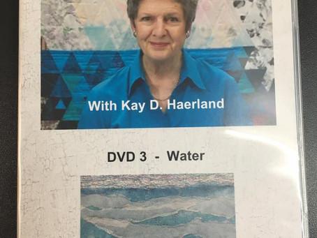 Kay Haerland Textiles Adventures DVD's