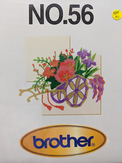 Brother Embroidery Card - 56