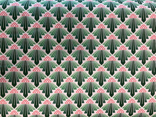 On A Spring Day - LV403-SG1 On a Spring Day - To the Sun - Spring Green Fabric