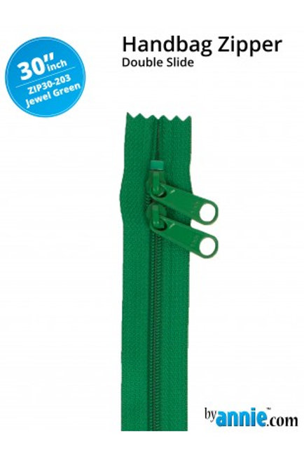 ByAnnie – 30 inch Zipper Jewel Green