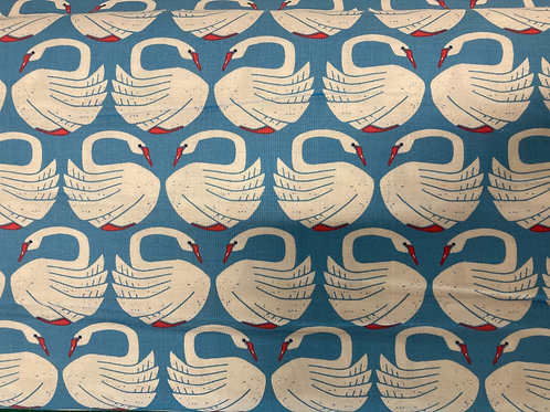 On A Spring Day - LV401-CL3 - Loving Swans - Clearlake Fabric