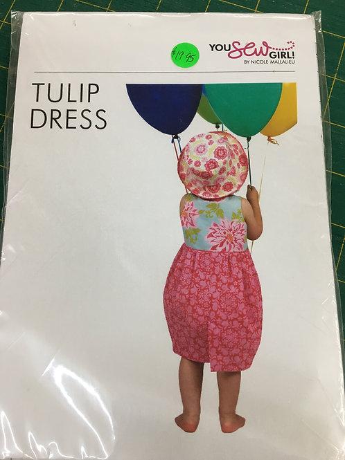 Tulip Dress You Sew Girl