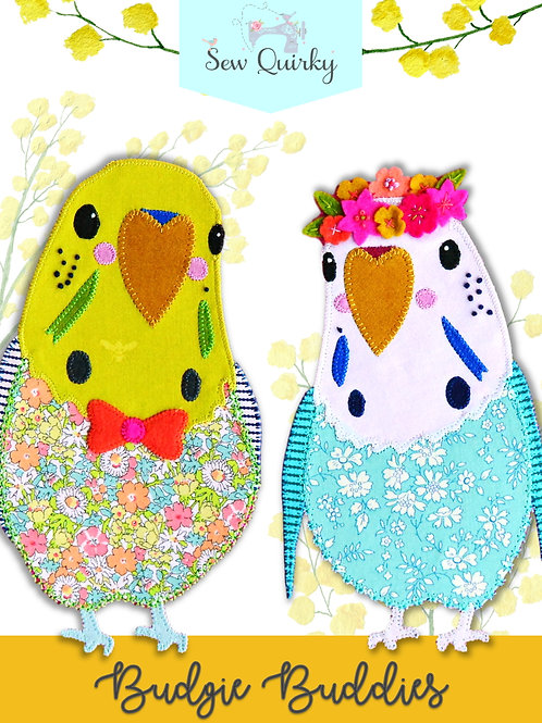 Sew Quirky Budgie Buddies