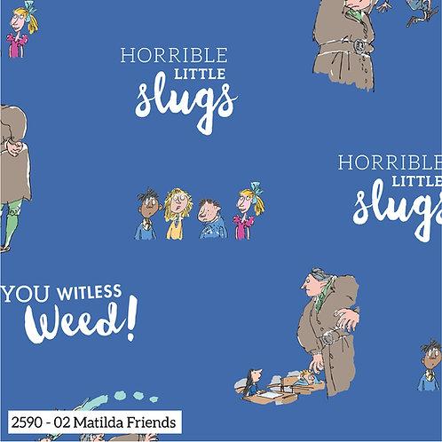 Matilda Roald Dahl - design 2