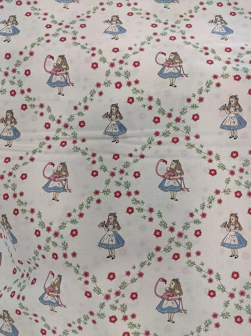 Alice in Wonderland Alice Floral