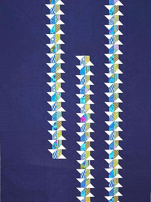 Michelle Marvig Fishbones quilt