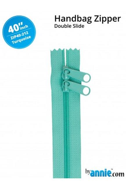 ByAnnie – 40 inch Zipper Turquoise