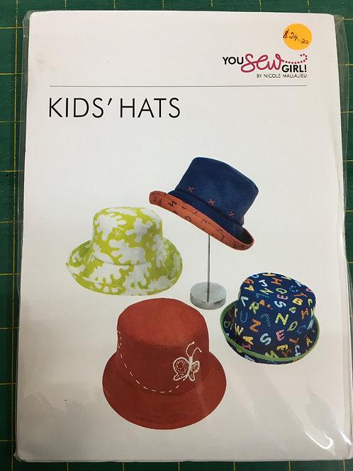 Kids Hats You Sew Girl