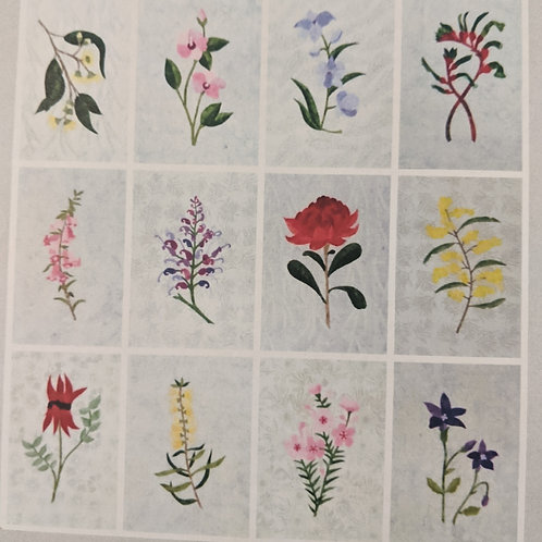 BOM - Applique Vintage Australian Floral Emblems