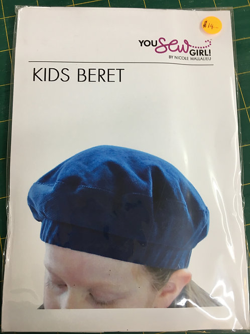 Kids Beret You Sew Girl