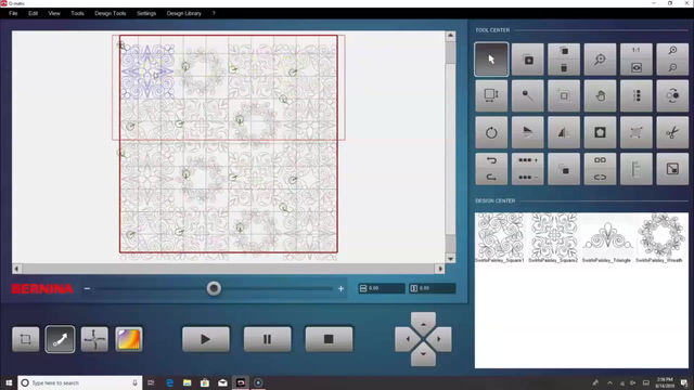 Using Qmatic to custom quilt - part 2