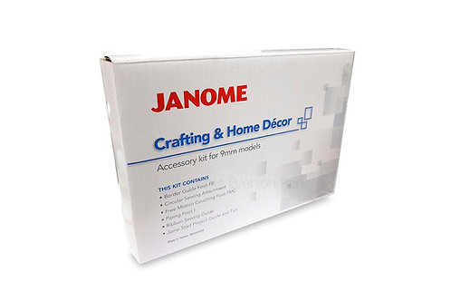 Janome Foot Demonstration Extravaganza