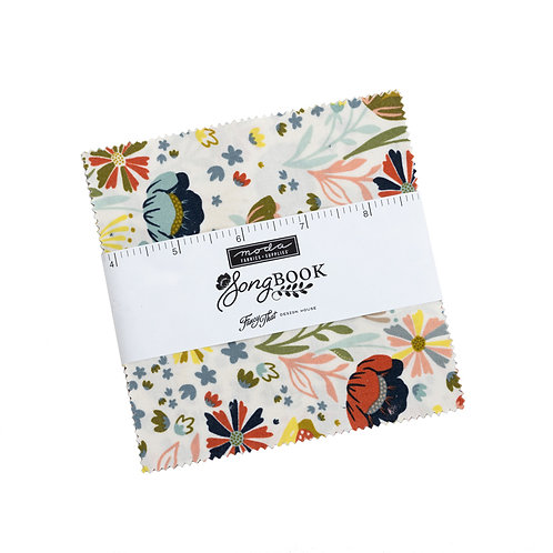 Moda Songbook 5 inch Charm Pack