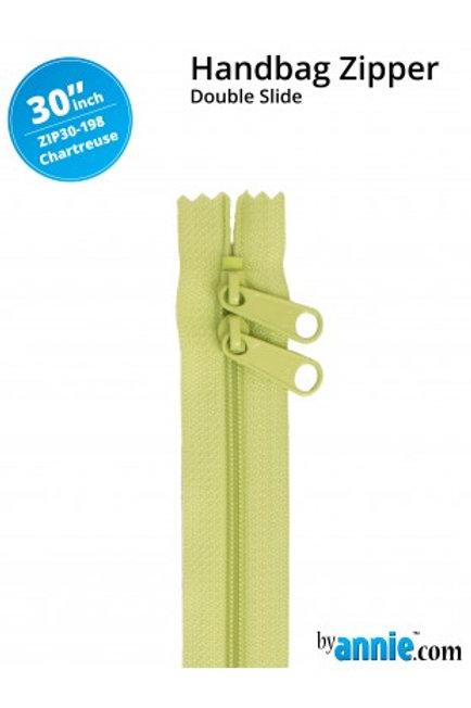 ByAnnie – 30 inch Zipper Chartreuse