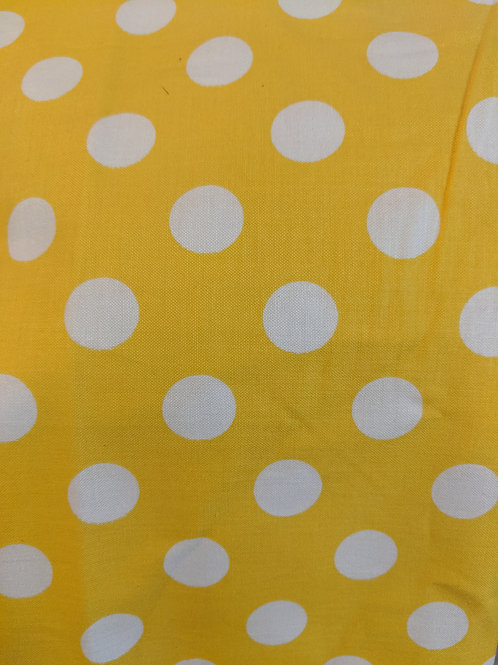 End of roll - Yellow Spot