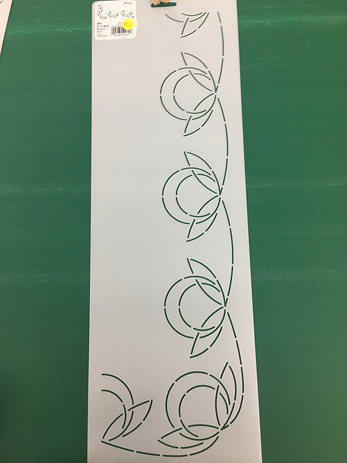 Quilting Stencils - Blossom Swirl