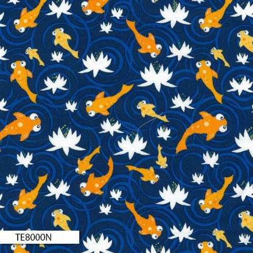 Navy TE8000N Pond Life Claire Turpin TE8000N