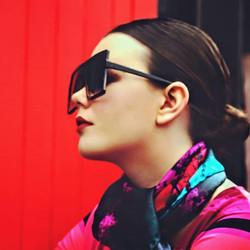 #silkaccessories #wearableart #irishdesign #newcomer #irishbeauty #fashionphotography #ladiesaccesso