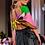 Thumbnail: Picasso logo print silk scarf