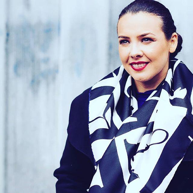 #wearableart #wearingirish #silkscarf #a