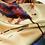 Thumbnail: abstract train print scarf