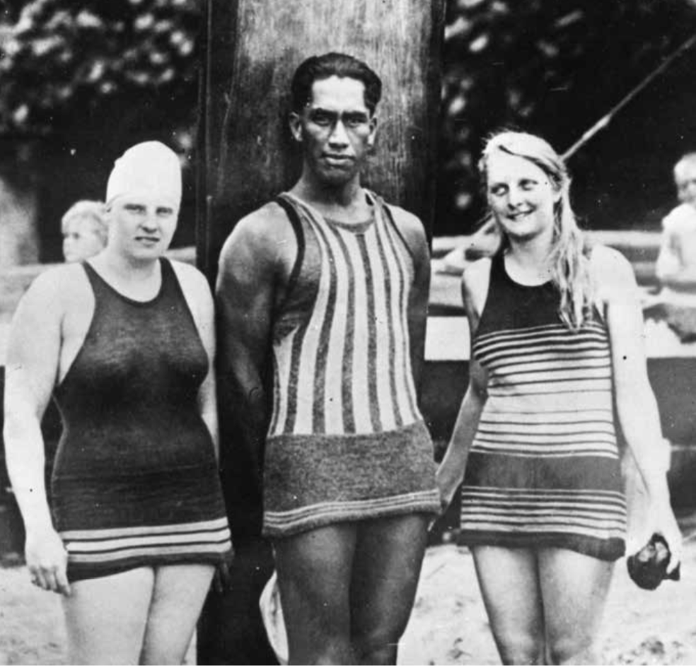 All surfers in the early decades of the 20th Century knew Duke. As Hawaii's aloha ambassador, the five-time Olympic medalist was one of modern surfing's earliest first-person observers of women's surfing.