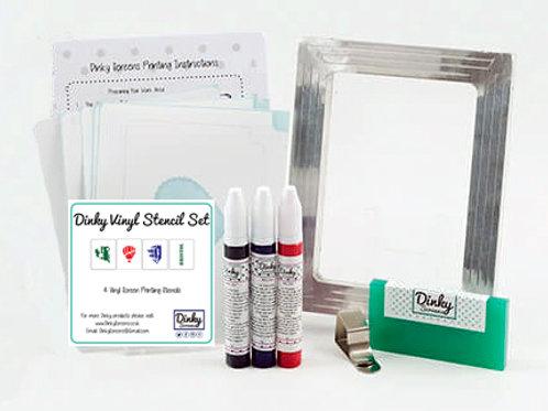 Bristol Dinky Screens Vinyl Stencils Printing Craft Kit