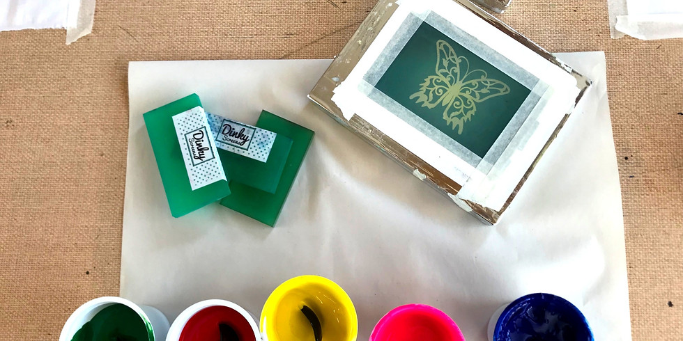 Age 6-12 yrs Print Workshop - Design Your Own T-shirt.