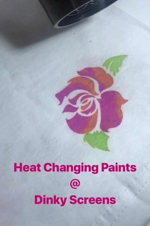 Heat Changing Paint 120ml