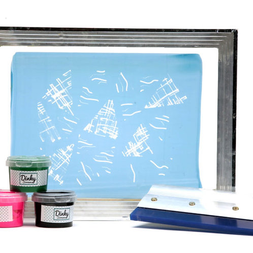 A4 Personalised Silk Screen Kit