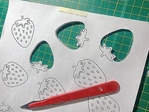 A4 Silk Screen Waterproof Stencil Paper