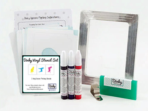 Pets Screen Printing Vinyl Stencil Craft Kit