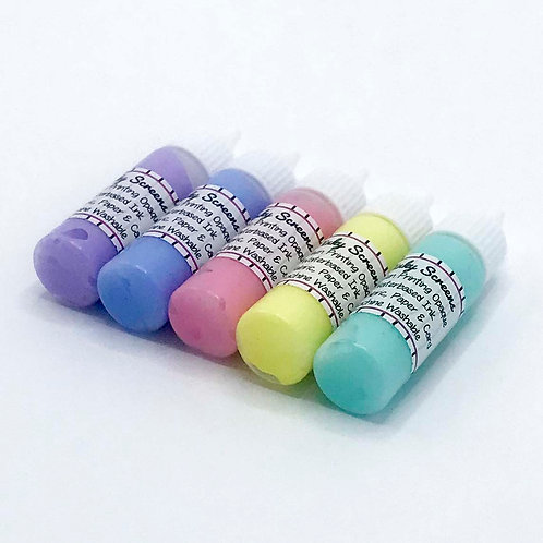 Opaque Pastel Coloured Inks 15ml