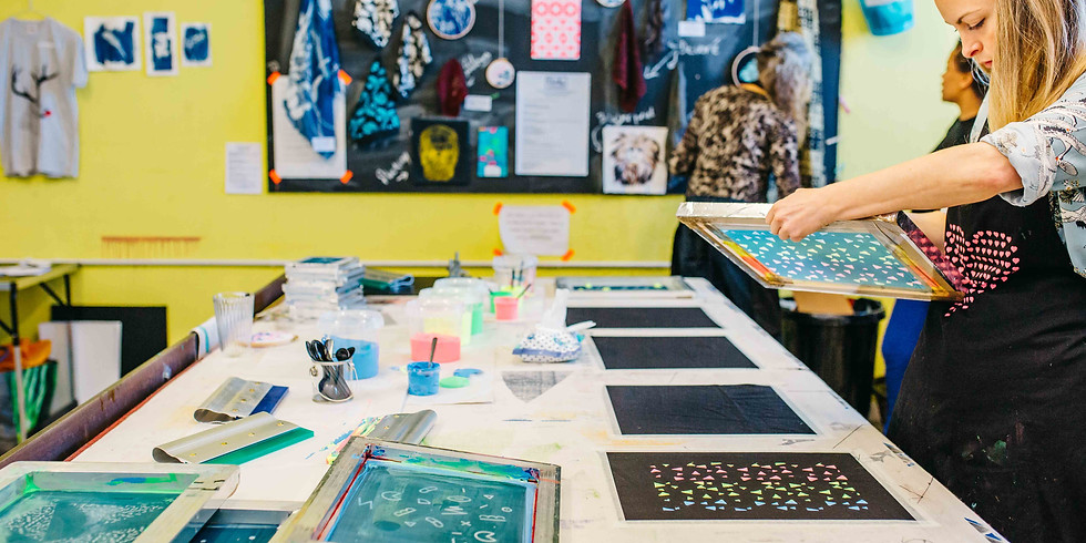 Screen Print Taster Session for Fabric