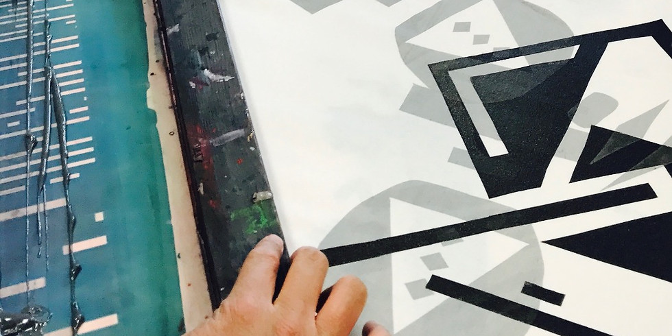 Introduction to Screen Printing onto Fabric Day (1)