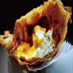 炸蛋葱油餅