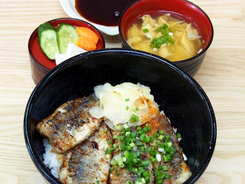 鯵蒲焼丼セット