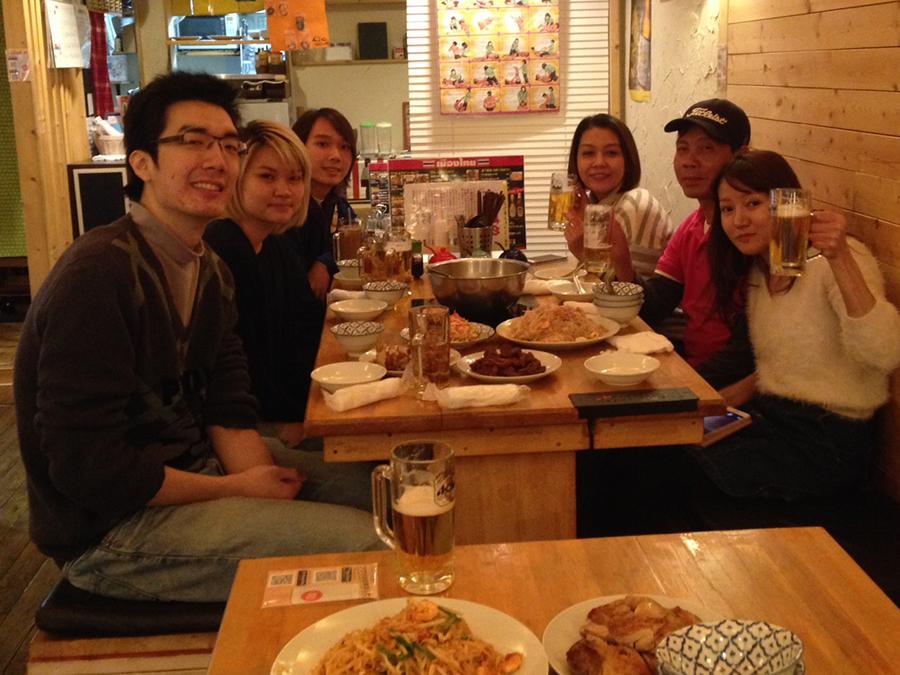 タイかぶれ食堂 賑やかに楽しく!!
