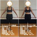 ダイエットモニタ①結果