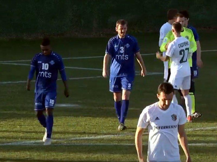 Poslednja provera u Antaliji protiv Vorskle: 0:0
