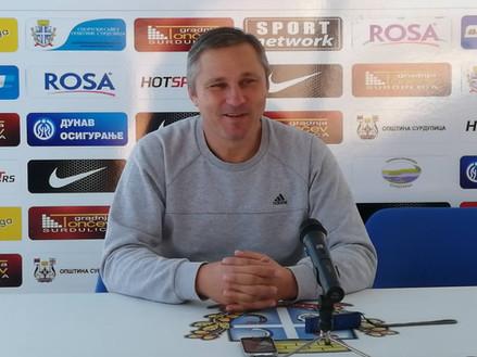 Radnik pred utakmicu sa Partizanom