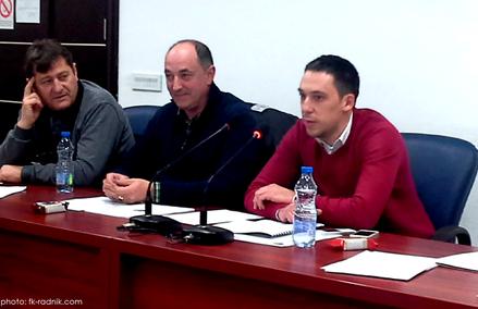 Novo rukovodstvo FK Radnik
