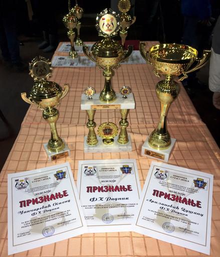Radniku tri priznanja na proglašenju najboljih sportista i klubova