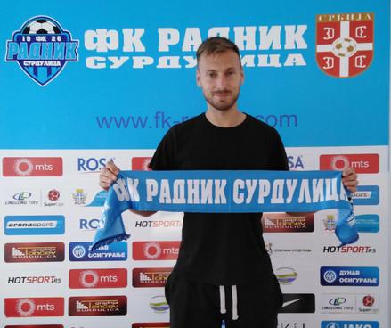 Ukrajinski internacionalac Jevgen Pavlov danas zvanično promovisan u plavom dresu