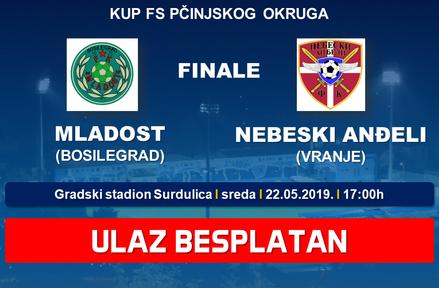 Finale kupa FS Pčinjskog okruga u Surdulici