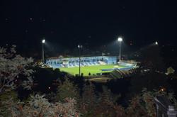 Stadion FK Radnik noću