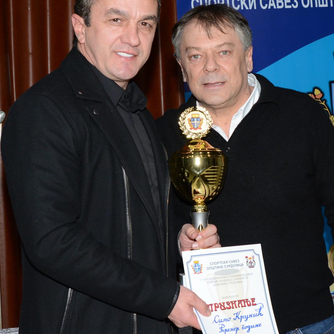 Najuspesniji trener Simo Krunic