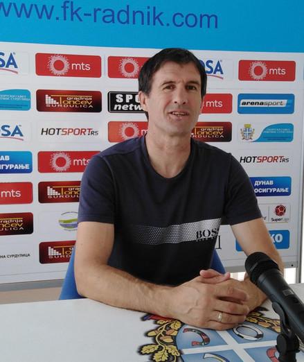 Radnik pred utakmicu 1/16 finala Kupa Srbije